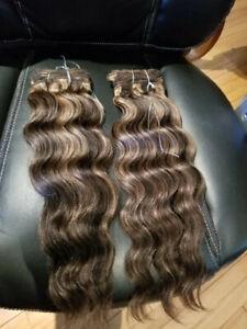 Rallonge Cheveux à Trames 1b/30 16po 2 pqt/ Hair Bundles 1b/301