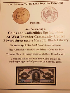 COIN AND COLLECTABLE SHOW