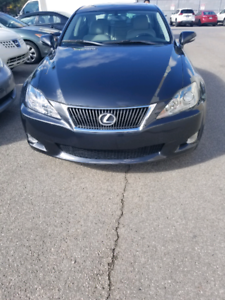 2009 Lexus is250.awd automatic
