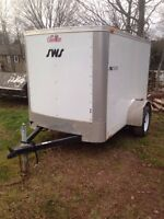 2011 4x8 enclosed trailer