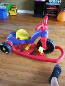 LEARN TO PEDAL TIKES CONVERTABLE TO ROCKER Kitchener / Waterloo Kitchener Area image 3
