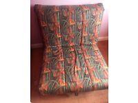 Single sprung sofa chair