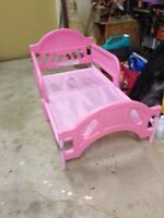 Toddlers Pink Bed