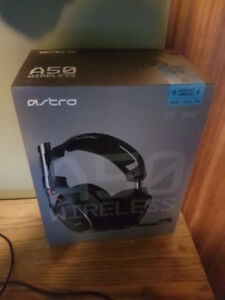 Astro A50 + Mixamp Wireless Headset