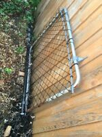 FREE Old Chain Link Fencing and Gate
