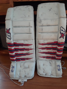 Brian's and Vaughn Goalie Pad season end SALE! $280 obo!