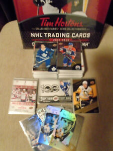 Tim Horton  and Canadian Tire singles cards For sale
