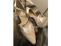 Women's John Lewis wedding kitten heels - Size 5 - Worn once