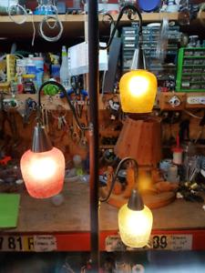 Superbe lampe vintage de pôle de tension !!!