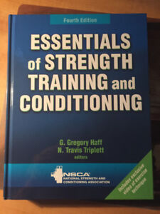 Essentials of Strength and Conditioning 4th Edition - CSCS Study