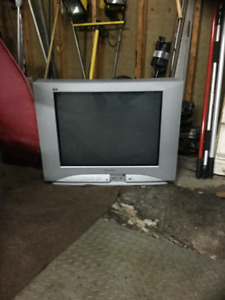 "Good 27"" flat screen"