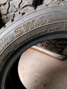 205/55R16 studded winter tire (Just One)