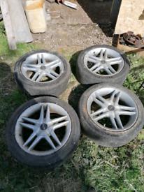 16inch mulitifit alloys 4x108 4x100