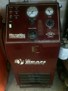 Motorvac Carbon Clean System machine