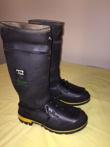 """BAFFIN 15"""" GEL SAFETY TOE & PLATE RUBBER BOOTS"""