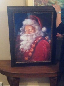 Magnificent Santa Claus frame