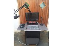 CLYDE BROADCAST S-RADIO COMPACT STUDIO PACKAGE