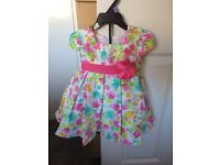 *reduced* designer 2 piece dress NEW 12M