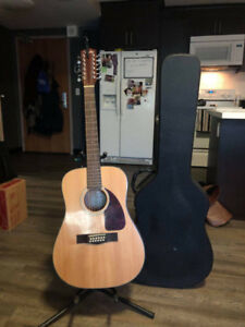 12-String Fender Acoustic (with Hard Case)