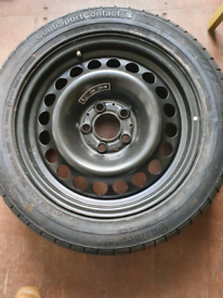 Mercedes spare wheel brand new full size