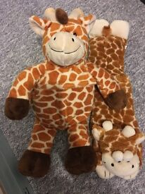 2 X Giraffe 'heatable warmers' - £5