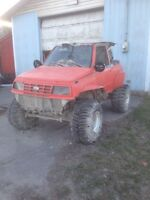 Chevy Tracker mud bogger