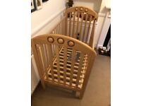 Amelia Cot & Changing Table by Mamas & Papas