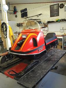 Vintage snowmobiles Large slection
