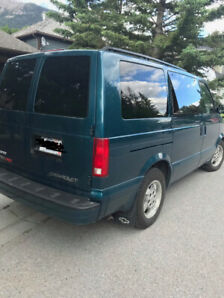Chevy Astro Van  AWD - 120km - Great condition with winter tires