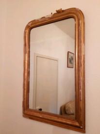 Antique Distressed orante mirror