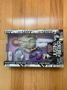 Justin Bieber collectable doll