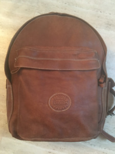 Roots Leather Backpack - original cost $328