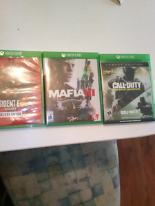 Looking to sell this xbox one games