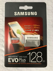 NEW! Samsung 128GB EVO Plus SD Card!