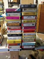 Brand New 8-Tracks. Rock n Roll, country and classical 140 total
