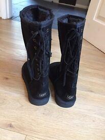 Black ugg boots brand new 6.5