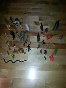 Toy animals and dinosaurs  over 40 toys London Ontario image 5