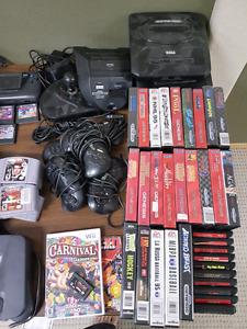 nes, super nes, Sega, Xbox. xbox360. n64.