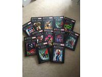 Marvel Graphic Novel Collection x 12 various hardback titles EX