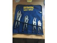 Irwin Vise-grips from snap on