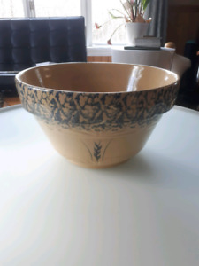 "Robinson Ransbottom 14"" Pottery Bowl made in USA-$55"