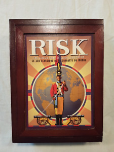 Board Game RISK-Collector's Edition in Wooden Box-Never Played!