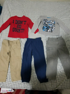 4t boys clothes lot