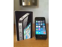 APPLE IPHONE 4 BLACK 16GB OPEN TO ANY NETWORK!