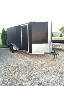 6x14 ENCLOSED CARGO TRAILER FOR RENT Kitchener / Waterloo Kitchener Area image 1