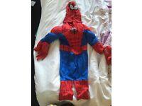 Spider-man fancy dress costume for kids