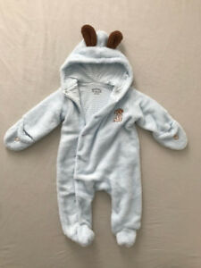 MINT/Like New - Bunnies by the Bay Hoodie One-Piece (6-9 mo)