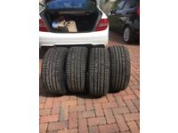 Cooper winter tyres used