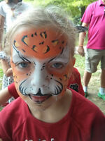 Face Painting done by professional artists