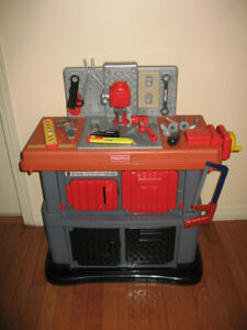 Fisher Price Workshop Tool Bench Play Set